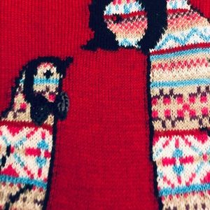 Talbots Sweaters - 🎁🌲Talbots Christmas Penguin Sweater M-L.